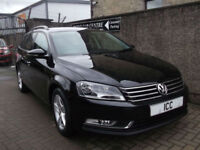 13 13 VOLKSWAGEN PASSAT 1.6 TDI BLUEMOTION TECH S ESTATE 5DR £30 TAX ALLOYS FSH
