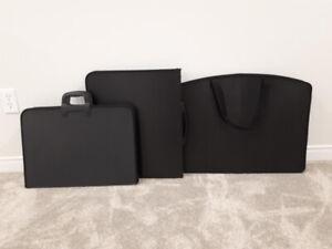 3 porte-documents pour artistes (portfolios)