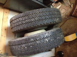 2 OF 225/70/19.5 AND ONE 245/70/19.5 FOR SALE