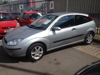 Ford Focus Edge Coupe 2003. Mot. Tax. Leather
