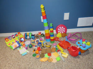 Euc Huge lot of Baby Toys