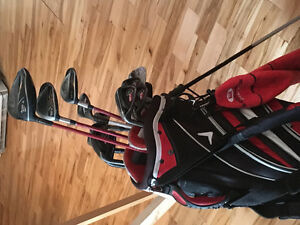 Ensemble de golf complet gaucher