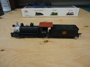 HO scale 4 - 6 - 0 Canadian National Steam Locomotive