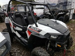 2015 Polaris RZR S 900 White Lightning