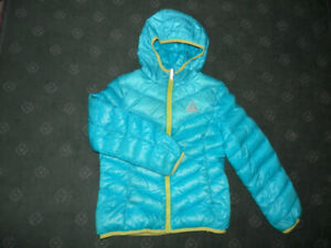 Girls down jacket (size 7/8)
