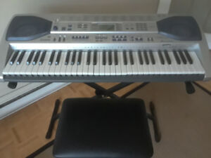 Casio LK-92TV keyboard -- as new!