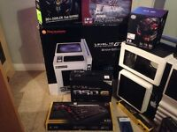 Gaming pc, Thermaltake level 10 snow edition case + more! selling in parts