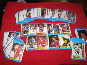 1989-90 O-Pee-Chee hockey commons (250 out of 330 in set)*