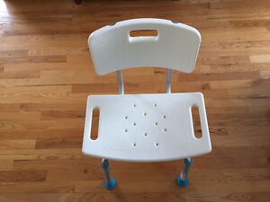 Chaise douche/bain Aqua Sense ajustabl Shower bath chair adjusta