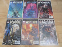 Wolverine: The End comic book series (1-6)