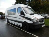 REDUCED Mercedes-Benz Bespoke, 2 Berth, Conversion, rear fixed bed Panel van