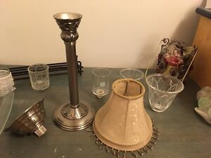 PartyLite candle and candle holders lot