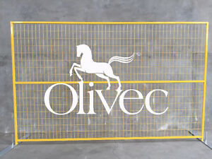 Temporary Fence Construction Panels Sale Canada Olivec Canada