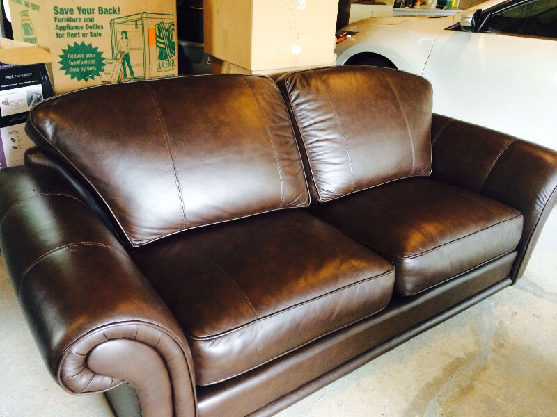 Custom Leather Sofa Price Reduced Couches Futons Mississauga Peel Region Kijiji