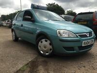 Vauxhall/Opel Corsa 1.2i 16v 2004MY Life - 12 Months Mot - Low Mileage