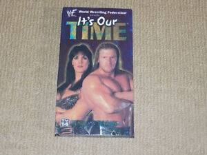 WWF, IT'S OUR TIME, VHS, EXCELLENT CONDITION, WWE