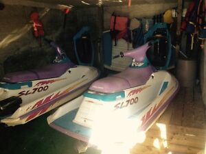 2 low hr jet skies for sale