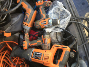 Awesome rigid reciprocating saw, and hammer drill