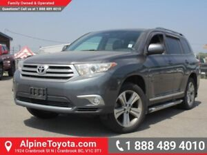 2012 Toyota Highlander 4DR 4WD  Running Boards - Heated Seats -