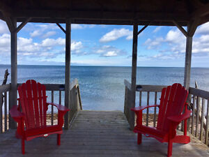 Oceanfront on Northumberland Strait-Ocean Flower Cottage