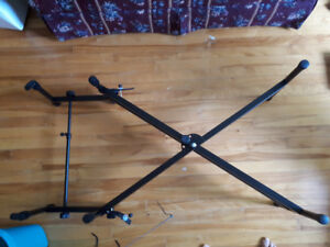 double tier keyboard stand support clavier double