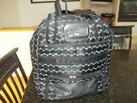 Lug Black and White Puddle Jumper Gym/Overnight bag $45