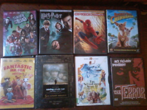 DVDS  all you see here 15.00