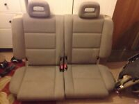 Audi a2 rear seat cloth interior no damage breaking spares
