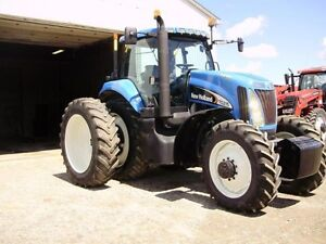 2006 New Holland TG215 Tractor London Ontario image 3