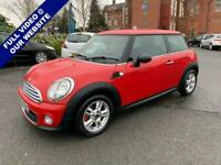 2012 MINI HATCH ONE 1.6 ONE D 3d 90 BHP Hatchback Diesel Manual
