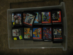 Sega Genesis & Japanese Games Cartridges Only