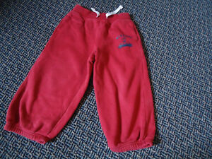 Boys Size 4 Red Jogger Pants by GAP