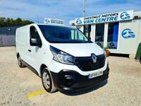 Renault Trafic 2900 Business L1H1 SWB In White 1.6 Diesel Renault History 2015