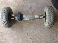 Rascal 329le mk1 transaxle and wheels