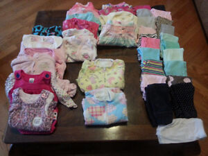 Girls clothes lot (Size 0-6 months)