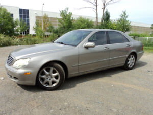 2005 Mercedes-Benz S430  4MATIC NAVI PACKAGE