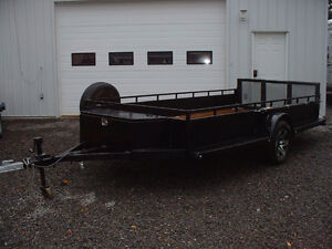 "2016 All Steel Utility UVT Trailer with foldable ramp 72"" x 156"""