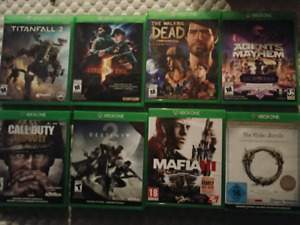 Xbox one games for sale $10-$20