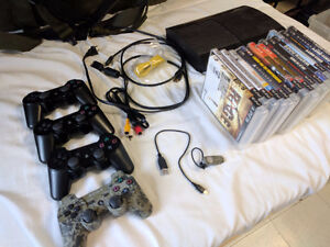Ps3 with SSD and games