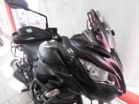KAWASAKI VERSYS 1000 KLZ1000 BFF, 65 REG 15492 MILES, ABS, KTRC, HEATED GRIPS...