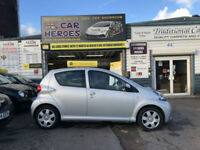 2007 TOYOTA AYGO 1.0 VVTi - AYGO + 5 DOOR ( AA ) WARRANTED INCLUDED