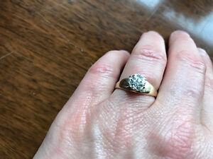 Early Modern Brilliant Cut Diamond 1.2 ct in 14 KT yellow gold London Ontario image 2