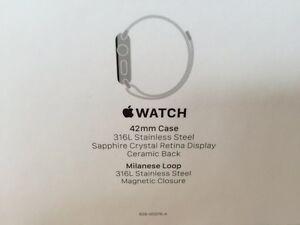 Apple Watch, Series 1, 42 mm,  Stainless Steel Milanese Loop West Island Greater Montréal image 1