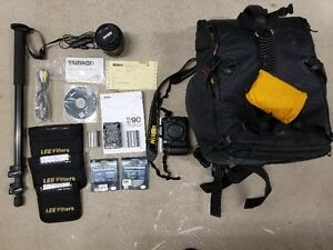 Nikon D90 with Bag and accessories