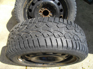 Winter Tires 205 55r 16 with Rims