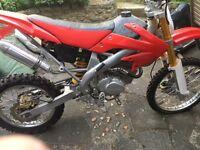 CRF 200cc Honda replica (zongshen) off road motorbike