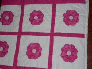 queen size hand stitched quilt Peterborough Peterborough Area image 2