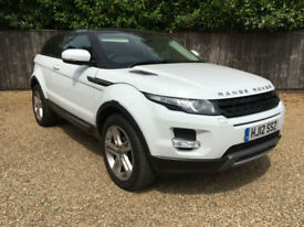 Land Rover Range Rover Evoque 2.2SD4 2012MY Pure TECH WHITE MANUAL DIESEL