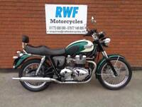 TRIUMPH BONNEVILLE T100, 2007, ONLY 2 OWNERS, 16K WITH SH, EXTRAS, 12 MONTHS MOT