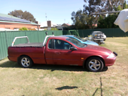 Ford au xls ute dual fuel auto Seymour Mitchell Area Preview